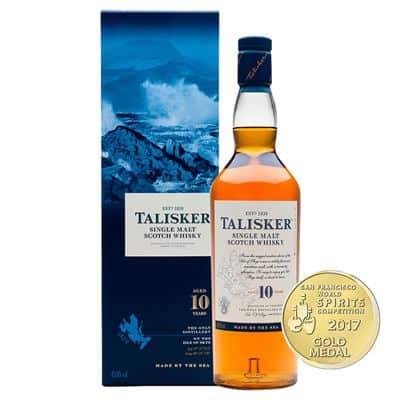 Whisky Talisker 10 años