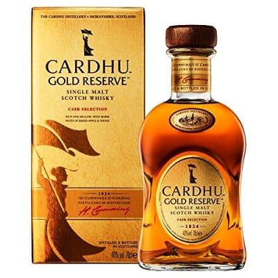 Cardhu Gold Reserve. El mejor whisky en calidad-precio para regalar