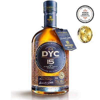 DYC 60aniversario 15años. El mejor whisky en calidad-precio español