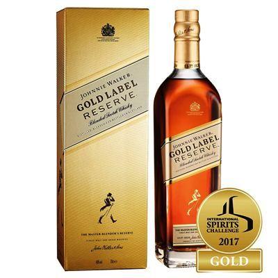 Johnnie walker gold label reserve. El mejor whisky en calidad-precio para mezclar