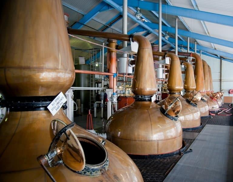 Destilería whisky